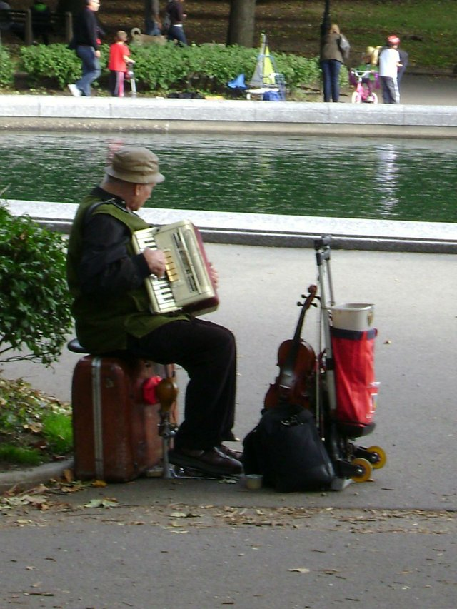 music or central park