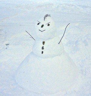 Mohawk Snowman.