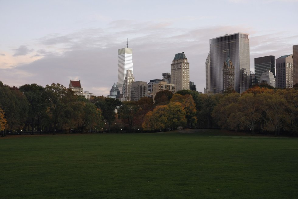 Sheep Meadow before sunset