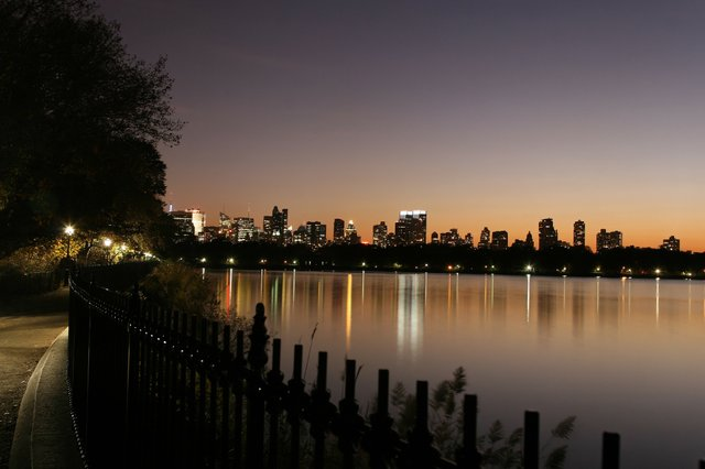 Reservoir at Night