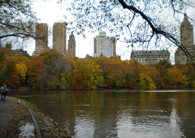 Manhattan in the background