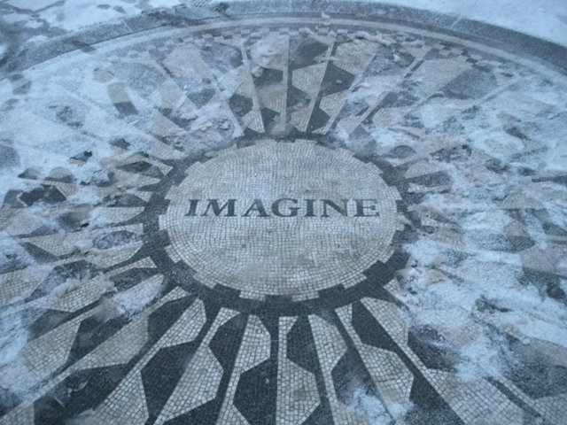 Imagine the snow
