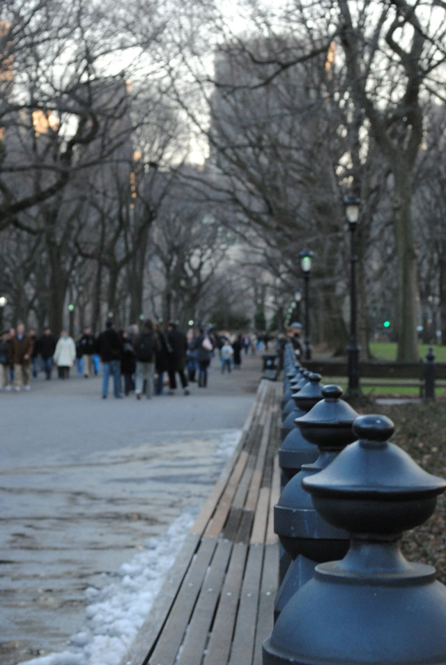 A Look Down the Mall