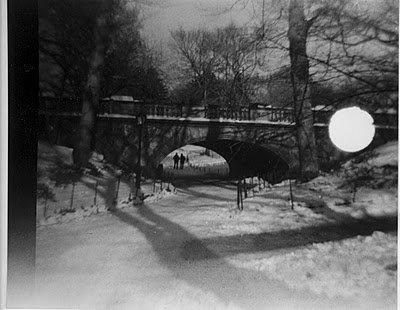 B/W Lomography Central Park