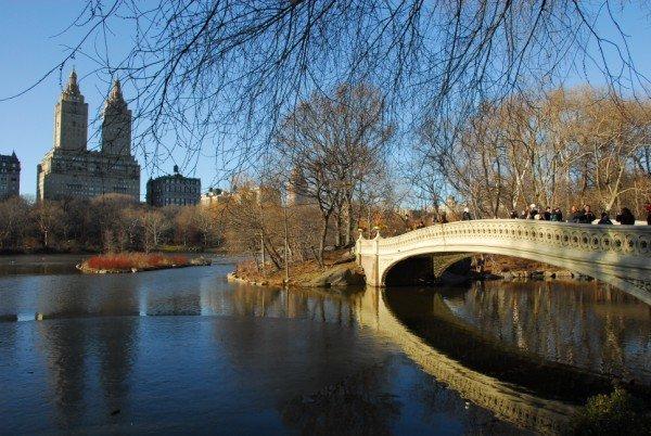 Bow Bridge in February