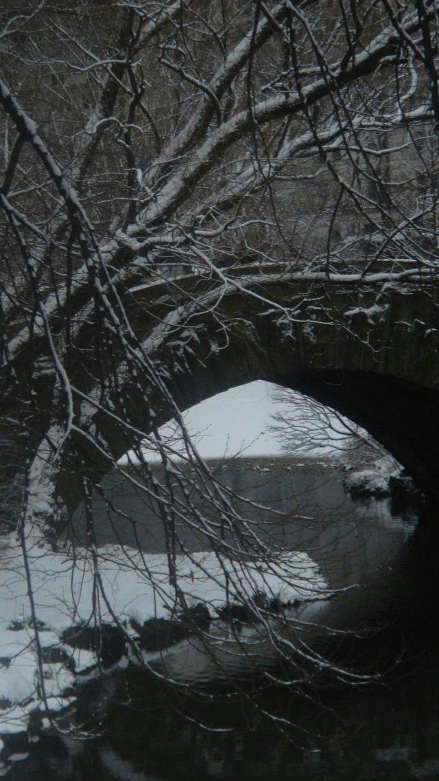 Winter Gapstow Bridge
