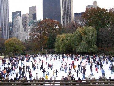 Skating in Central Park!