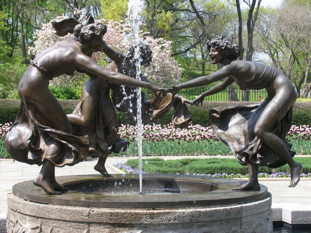 Dancing Girls of the Conservatory Gardens