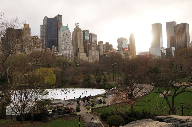 My first impression of the central park
