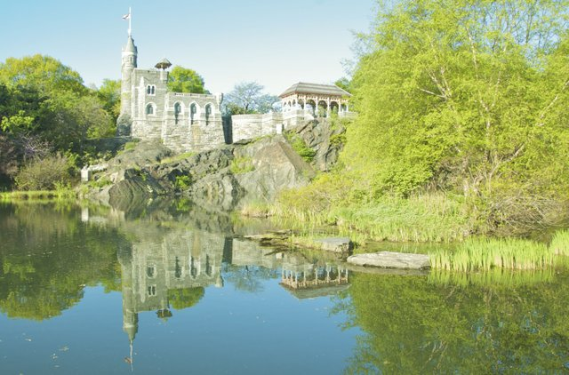 Belvedere Castle reflections