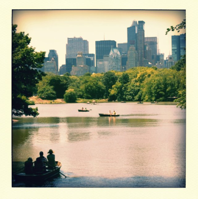 Hot afternoon in Central Park