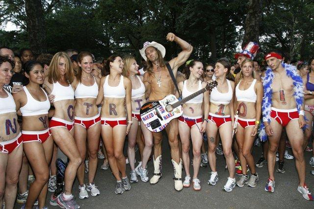 Central Park Underwear Run