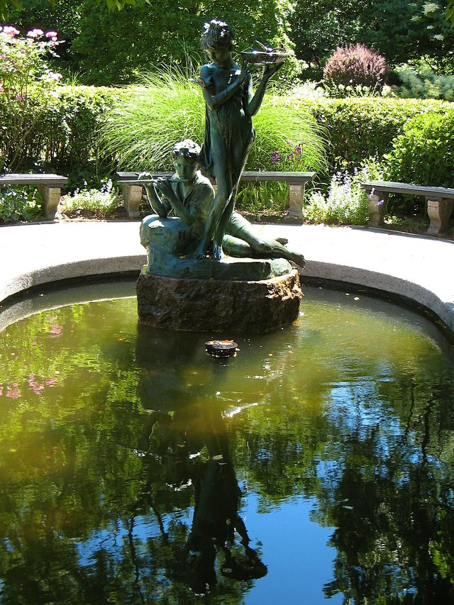 Serenity of the Conservatory Garden