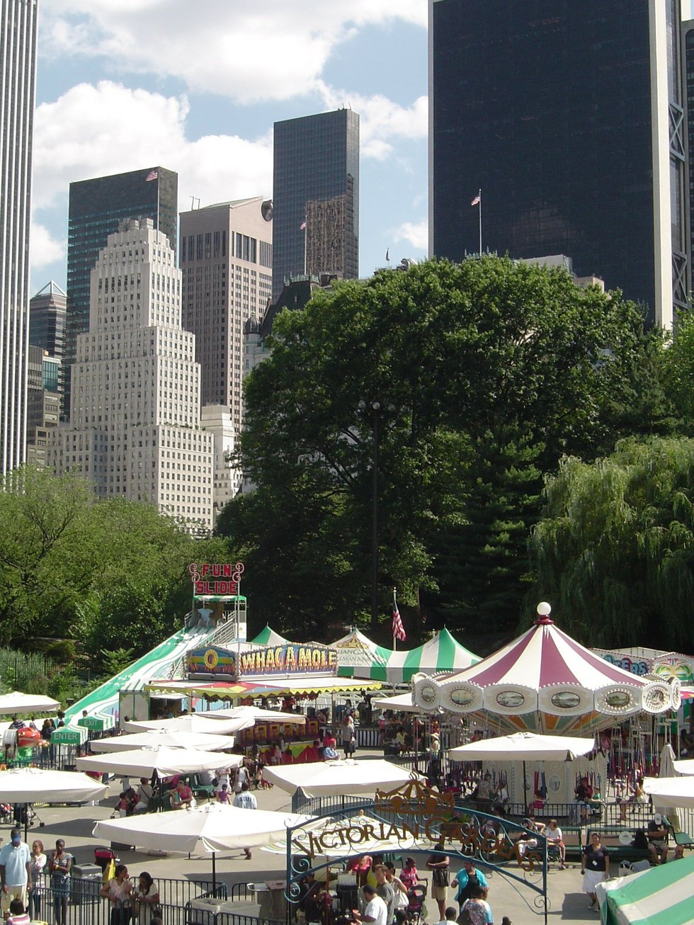 Tree-Covered Carnival
