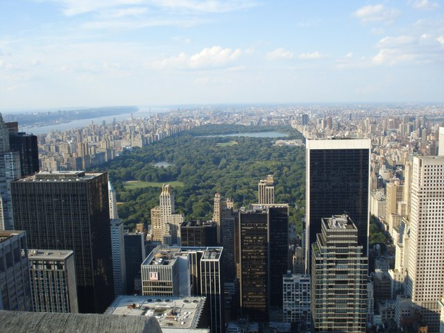 Taken from the Top Of The Rock
