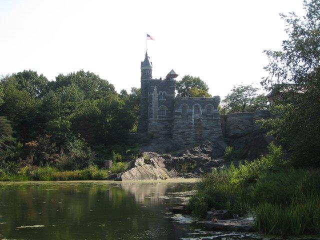 Belvedere Castle overlooking Turtle Pond