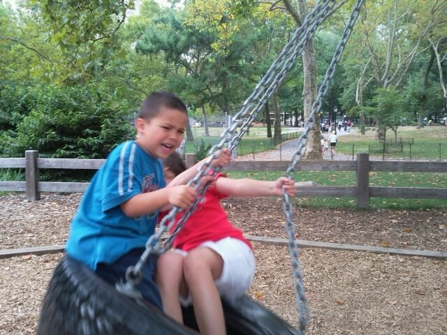 Terror on the Tire Swing- Central Park