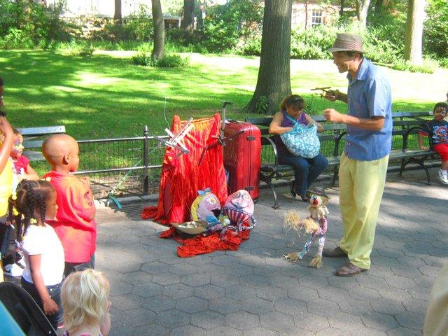 Diversion en Central Park