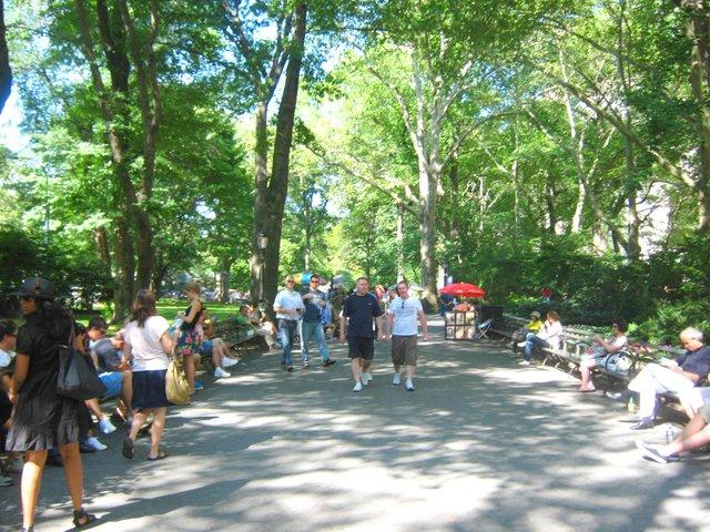 Entrada a Central Park