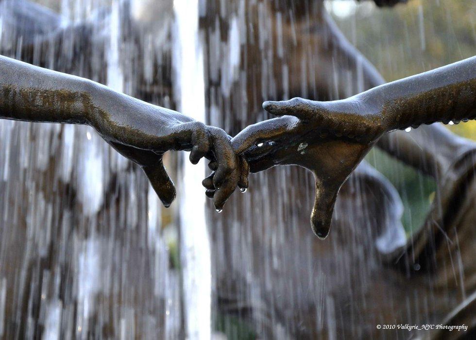 Central Park Hands