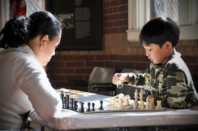 Chess & Checker House