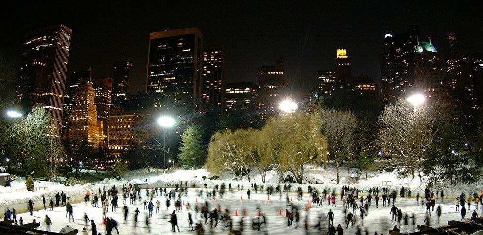 Central Park 'Wollman' Ice Skating Rink - Manhattan, NYC