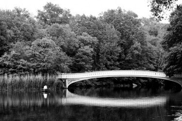 beautiful bow bridge landscape