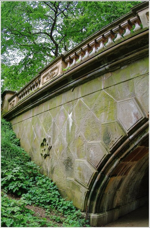 One of the bridges in Central Park
