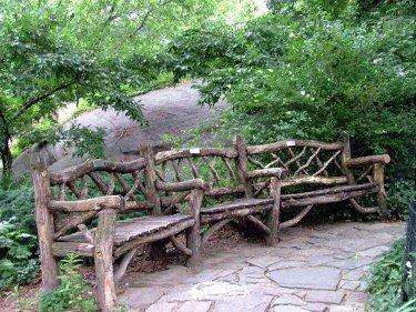Shakespeare Garden Bench #1