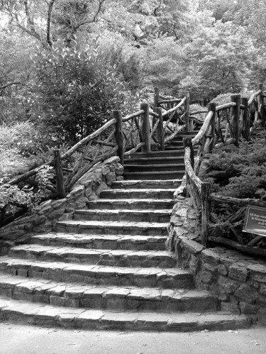 Shakespeare Garden - Stairs