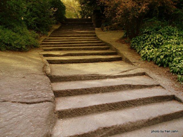 Stairway to the Shakespeare Garden
