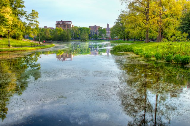 Central Park Lake - North