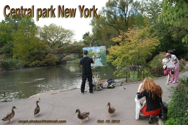 Painting on Central Park