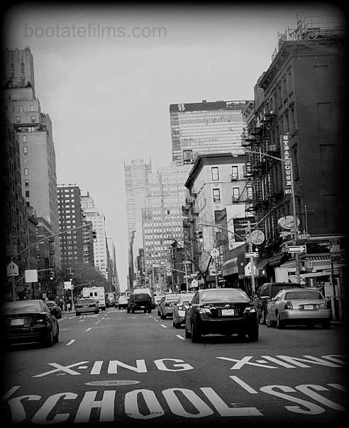 NY - BLACK AND WHITE