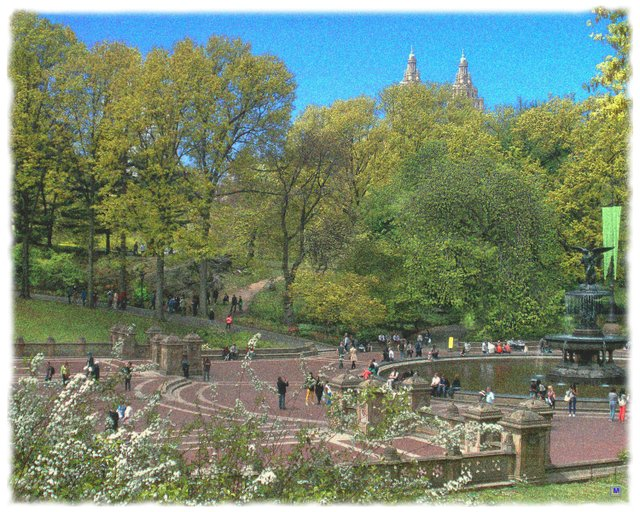 Central Park Bathesda Terrace 1