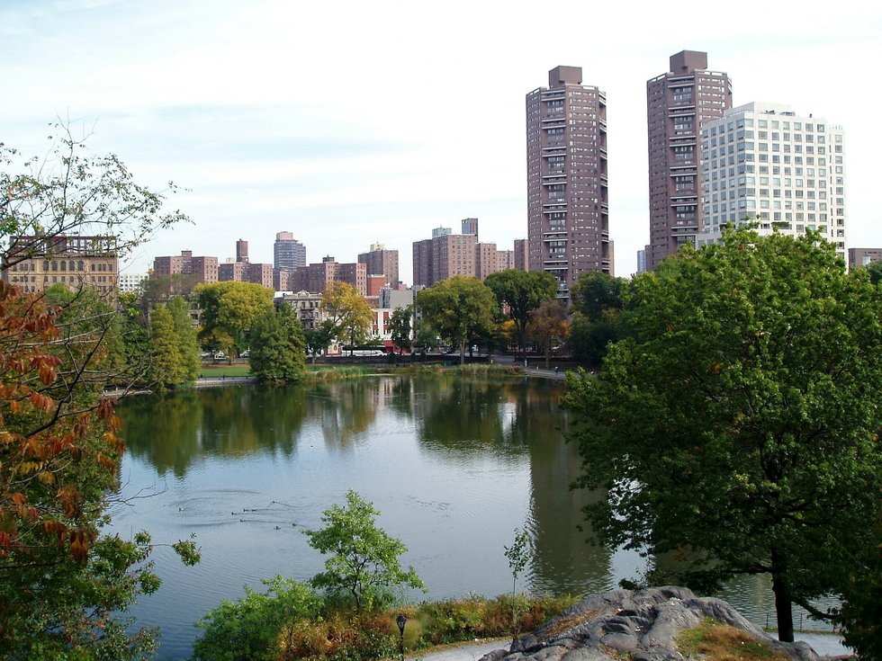 Harlem Meer from Fort Clinton