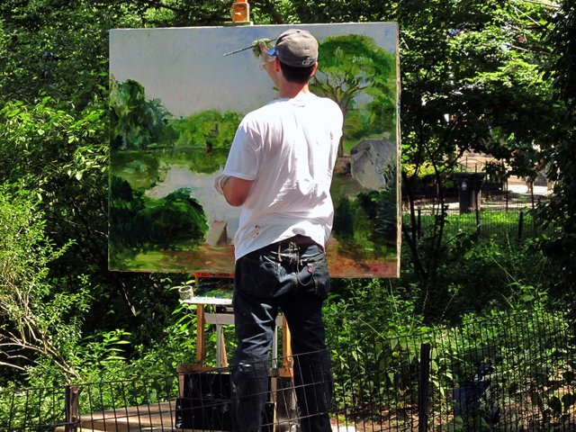 Artist in the Park