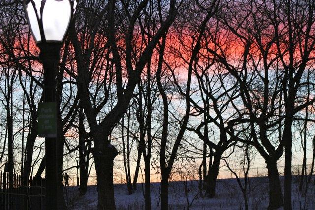 Sunset on the JKO