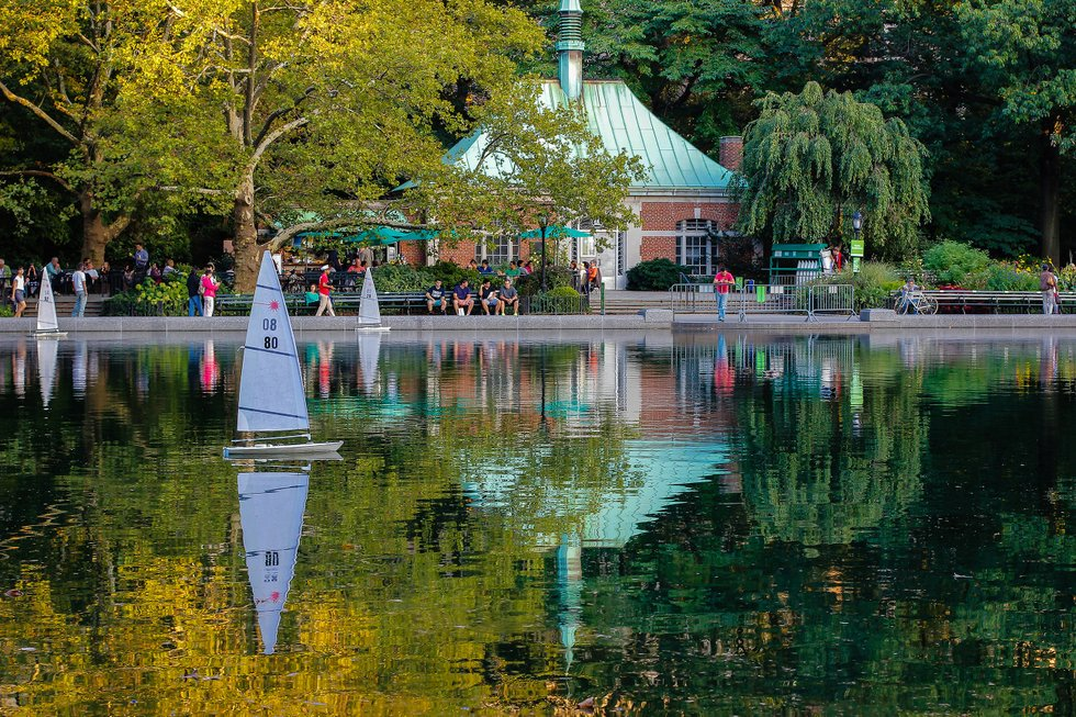 Central Park Conservatory Lake