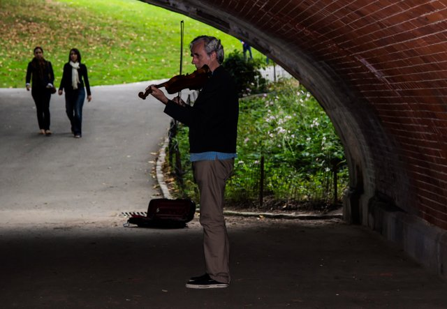 Music in Central Park