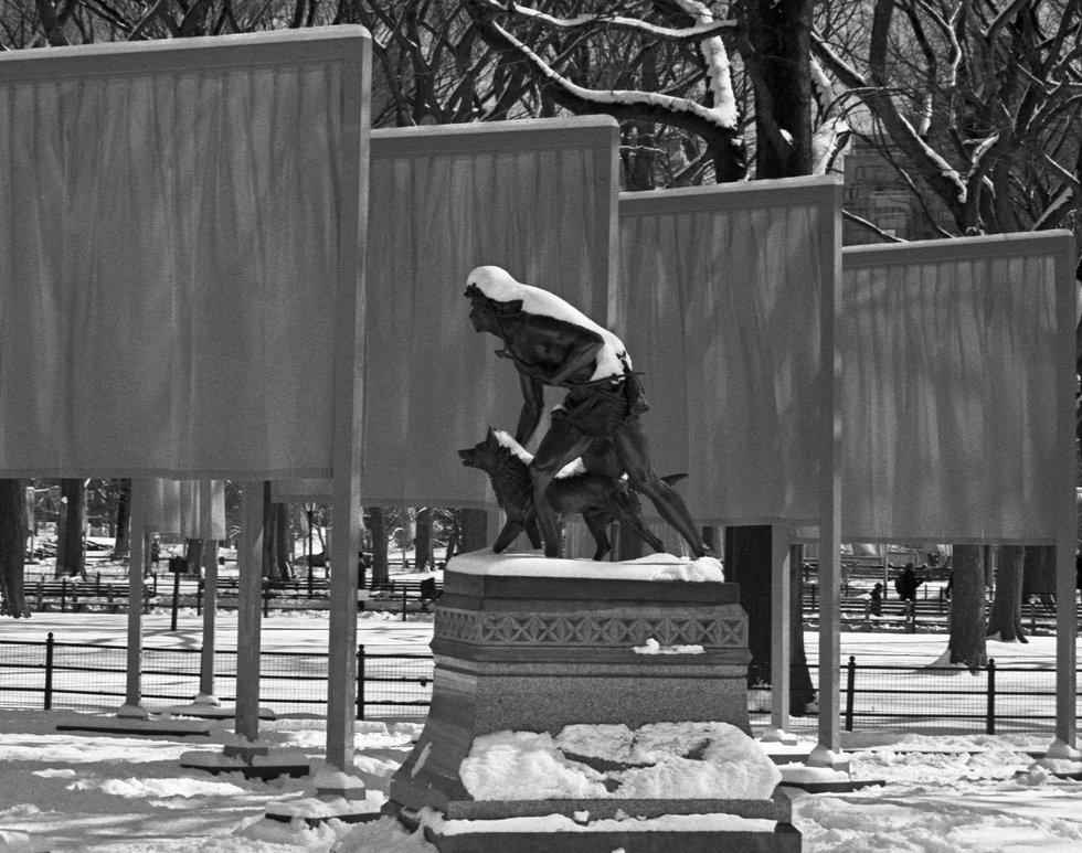 The Gates - Central Park Feb 2005
