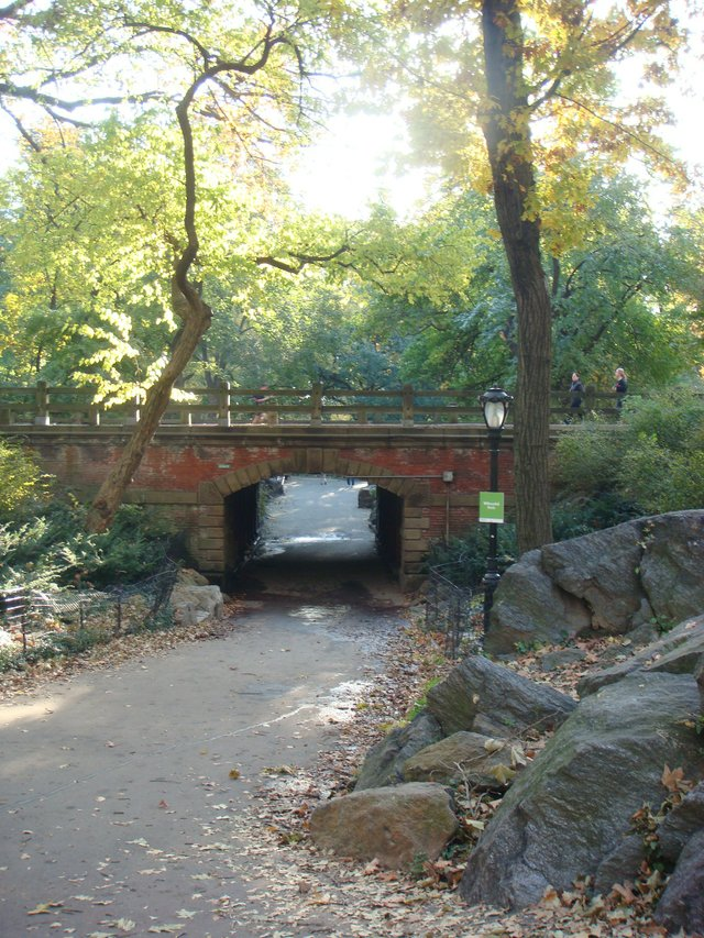 Central Park's Willowdale Arch