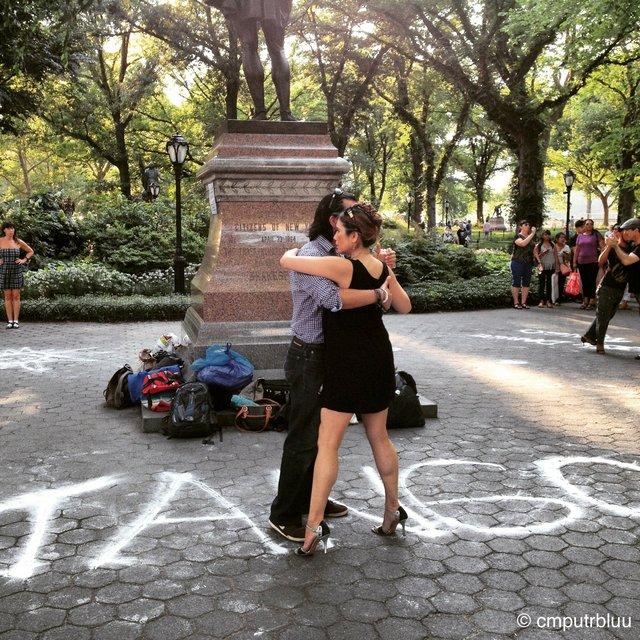 Abrazo / Central Park Tango