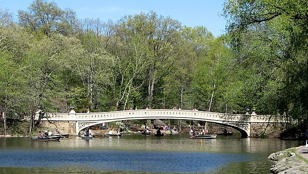 Bow Bridge in Spring 2010