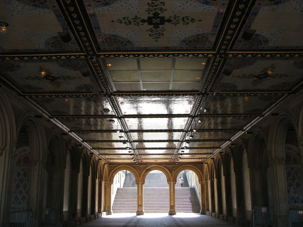 Bethesda Terrace Stairs
