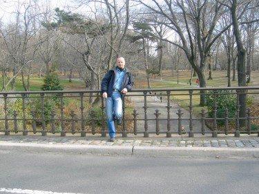 Eddie Im Central Park