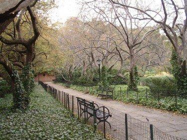 Conservatory Garden Path