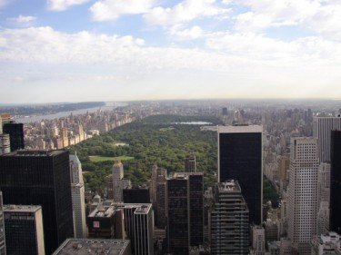 first ever view of central park