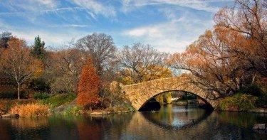 Gapstow Bridge - the pond