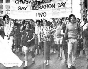 gay liberation day 1970 pride march